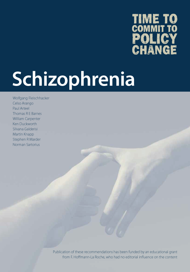 Schizophrenia---Time-to-Commit-to-Policy-Change